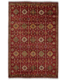 Feizy Ashi 6129f Red Area Rug