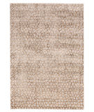 Feizy Cannes 3694f Light Gray - Brown Area Rug