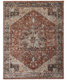 Feizy Caprio 3960f Rust Area Rug