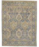 Feizy Carrington 6502f Light Blue - Beige Area Rug