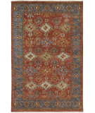 Feizy Carrington 6505F Orange - Blue Area Rug