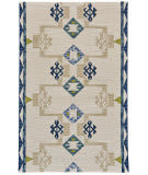 Feizy Fariza I8011 Blue - Natural Area Rug