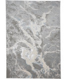 Feizy Azure 3539F Gray - Blue Area Rug