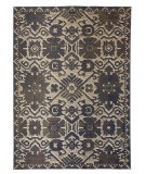 Feizy Foster 3758F Blue - Beige Area Rug