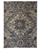 Feizy Foster 3760F Blue - Beige Area Rug