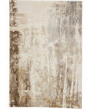 Feizy Parker 3709F Gray - Beige Area Rug