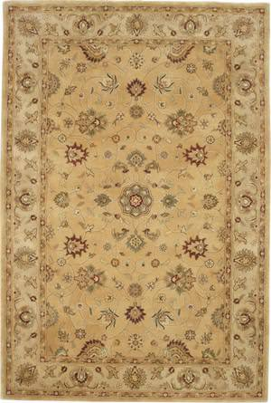 Global Accents Organico Couture Gold-Khaki OM52A Area Rug