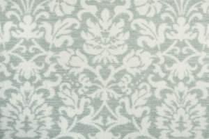 Hagaman Elegance Floral Flair Mist Area Rug