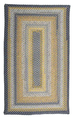 Homespice Decor Cotton Braid Sunflowers  Area Rug