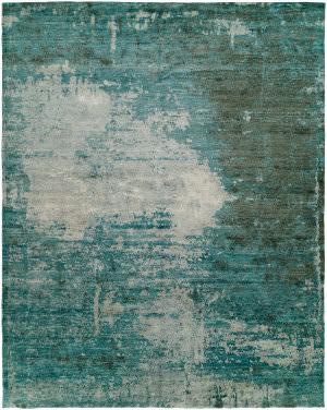 Hri Avalon Av-9789e Turquoise Area Rug