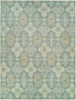Hri Elegance Ele-2 Light Blue Area Rug