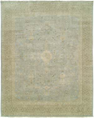 Hri Elite El-11 Soft Blue Area Rug
