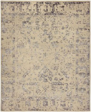 HRI Mystique My-7678 Grey - Charcoal Area Rug