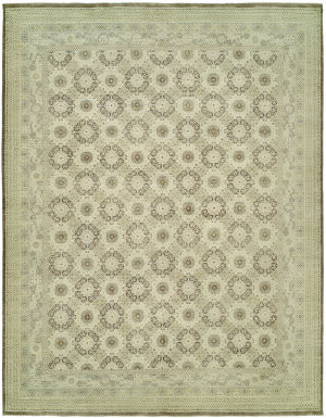 Hri Vogue NZ-2 Ivory - Brown Area Rug