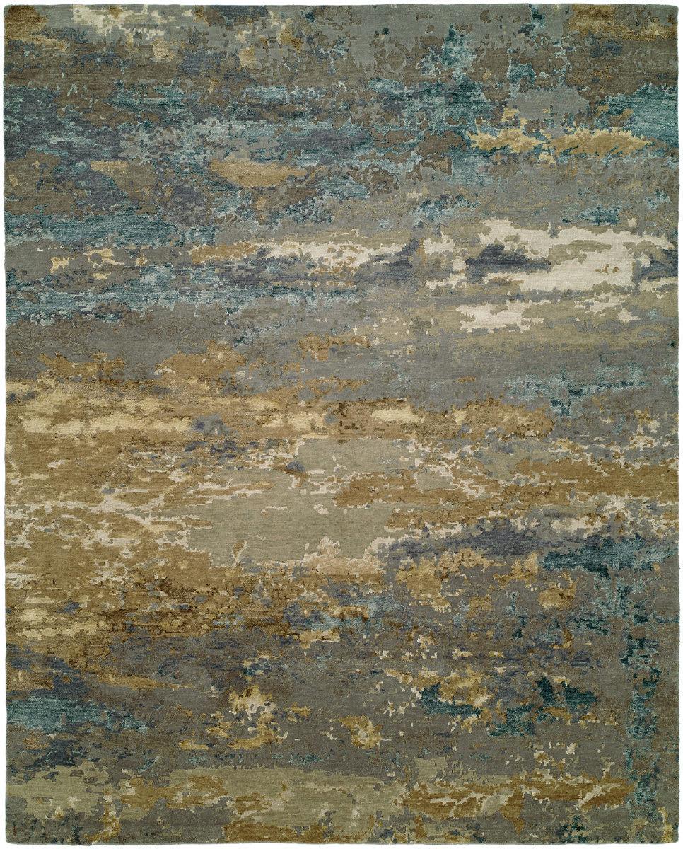 Hri Rosewood Ro 1427 Light Blue Gold Rug Studio