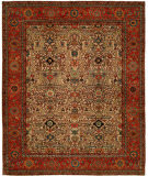 Hri Antique Heriz 109 Ivory - Red Area Rug