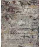 HRI Fantasy FA-631 Grey - Purple Area Rug