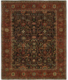 Hri Antique Heriz 121 Blue - Red Area Rug