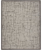 HRI La Jolla 5374-B Sand - Dark Grey Area Rug
