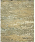 HRI Rosewood Ro-1276 Beige - Light Blue Area Rug