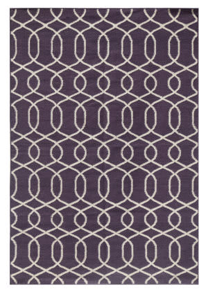 Jaipur Living Urban Bungalow MR26 Sweet Grape - Bone White Area Rug