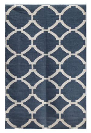 Rugstudio Sample Sale 70025R Dark Denim Area Rug