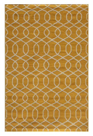 Jaipur Living Urban Bungalow UB13 Old Gold - Turtledove Area Rug