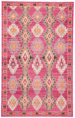 Jaipur Living Amuze Fiori Amz03 Pink Area Rug