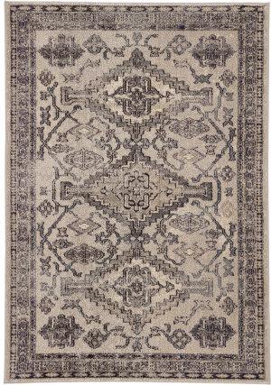 Jaipur Living Amuze Sheba Amz11 Gray - Black Area Rug