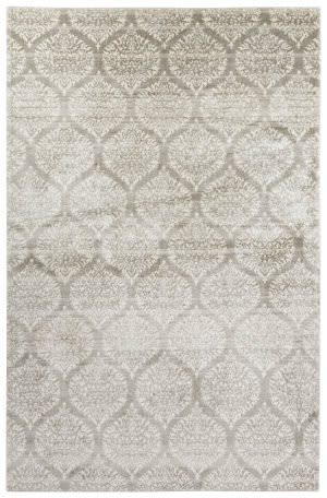 Jaipur Living Aston Brooks Ato01 Pussywillow Gray - Whisper White Area Rug