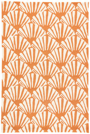 Jaipur Living Barcelona I-O Mollusk Ba69 Burnt Orange Area Rug