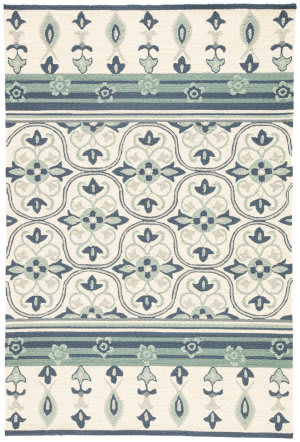 Jaipur Living Barcelona I-O Montserrat Ba70 Rutabaga and Dark Denim Area Rug