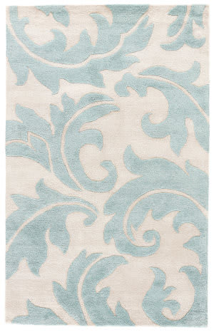 Custom Jaipur Living Blue Aloha Bl82 Rainy Day - Reef Waters Area Rug