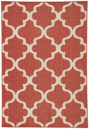 Jaipur Living Bloom Stamped Blo27 Jester Red - Birch Area Rug