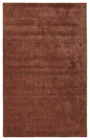 Jaipur Living Baroque Burney Bq32 Timber Wolf - Rose Wood Area Rug