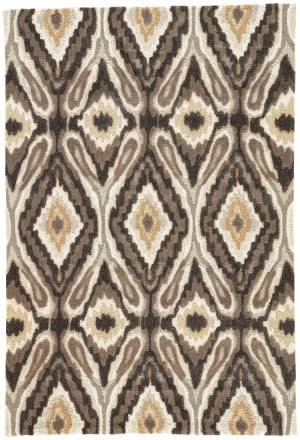 Jaipur Living Brio Pattern Play Br26 Black Olive - Chocolate Chip Area Rug
