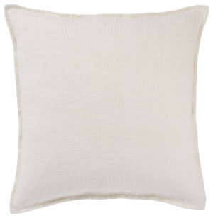Jaipur Living Burbank Pillow Blanche Brb03 Ivory