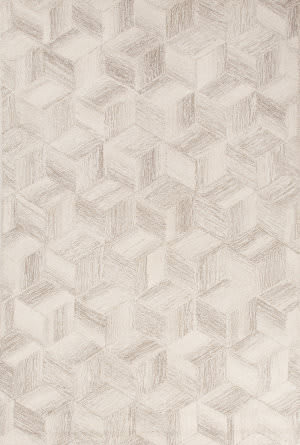 Jaipur Living Bristol By Rug Republic Warwick Bri26 Antique White - Silver Mink Area Rug