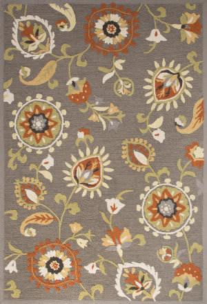 Jaipur Living Blossom Amhurst Bsm13 Brindle - Bombay Brown Area Rug