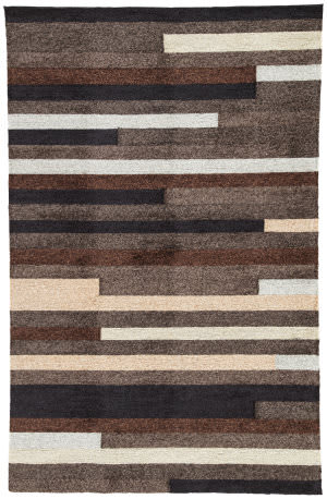 Jaipur Living Catalina Offset Lines Cat10 High-rise - Incense Area Rug