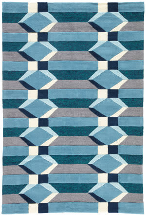 Jaipur Living Catalina Hamilton Cat31 Aegean Blue Area Rug