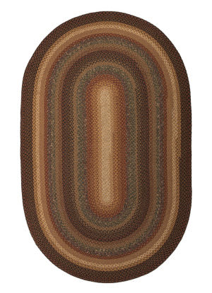 Jaipur Living Cotton Braided Rugs Peppercorn Cbr03 Tortise Shell - Sandstone Area Rug