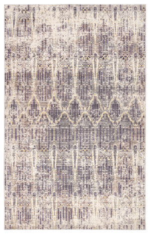 Jaipur Living Ceres Solana Cer07 Orient Blue and White Swan Area Rug