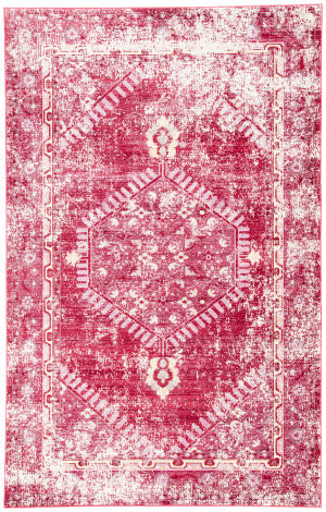 Jaipur Living Ceres Eris Cer08 Persian Red and Cashmere Rose Area Rug