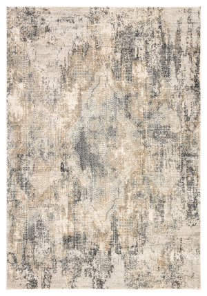 Jaipur Living Cirque Ramsey Ciq34 Gray - Gold Area Rug