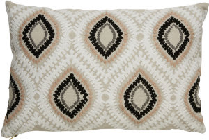 Jaipur Living Cosmic By Nikki Chu Pillow Ambra Cnk01 Beige - Pink Area Rug