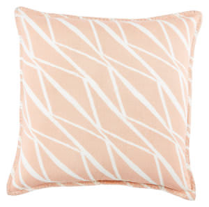 Jaipur Living Cosmic By Nikki Chu Pillow Nki34 Cnk29 Almost Apricot - Snow White