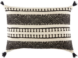 Jaipur Living Cosmic By Nikki Chu Pillow Nki35 Cnk30 Fog - Phantom