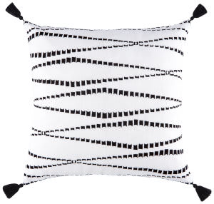 Jaipur Living Cosmic By Nikki Chu Pillow Nki38 Cnk33 Marshmallow - Phantom