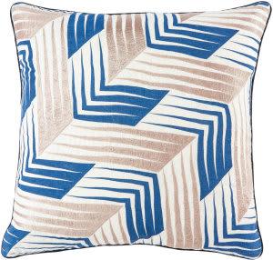 Jaipur Living Cosmic By Nikki Chu Pillow Morrley Cnk34 White - Blue Area Rug